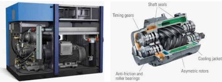 rotary screw air compressors for sale sydney